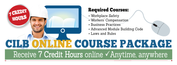 7 Hour Online Course Package (CILB)
