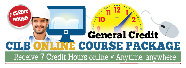 7 Hour Online Course Package (CILB - General Hours)